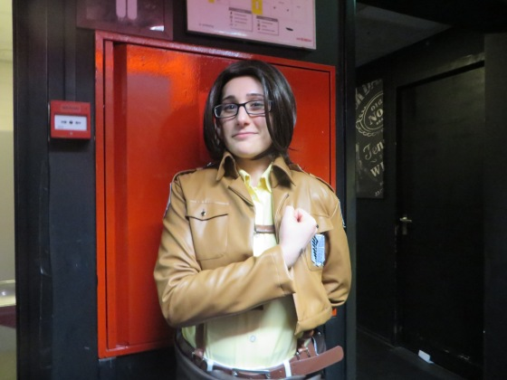 A Hanji cosplayer that even knew of my WAVE that touched me so much!! Her Japanese was awesome as well even though she was self-taught!!